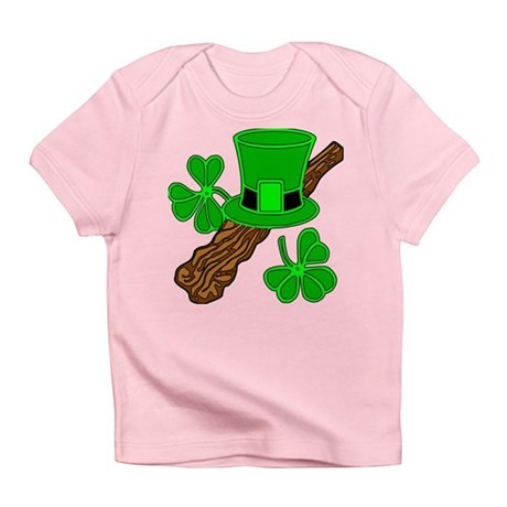 SMALLER IMAGE ON SHIRTS Infant T-Shirt