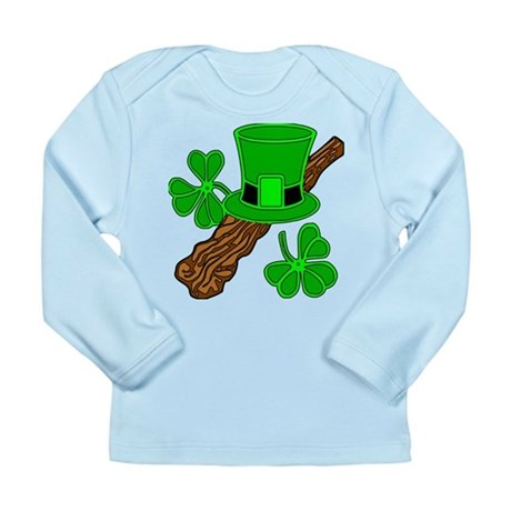SMALLER IMAGE ON SHIRTS Long Sleeve Infant T-Shirt