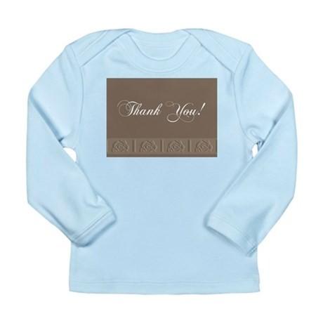 Thank You Roses Long Sleeve Infant T-Shirt