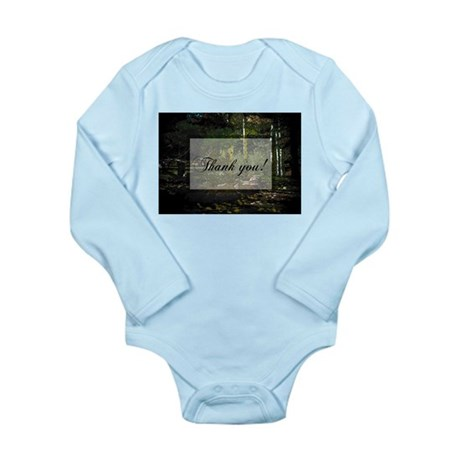 Woodland Path Long Sleeve Infant Bodysuit