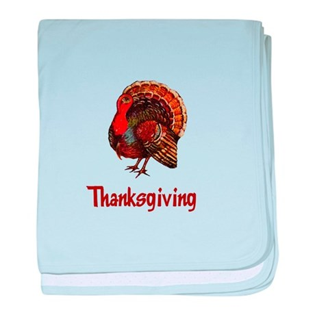 Thanksgiving Turkey baby blanket