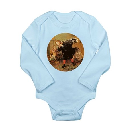 Vintage Thanksgiving Long Sleeve Infant Bodysuit