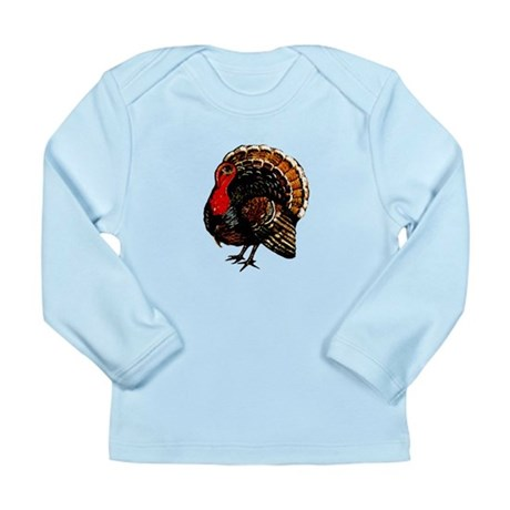 Thanksgiving Turkey Long Sleeve Infant T-Shirt