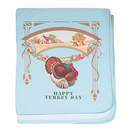 Turkey Day baby blanket