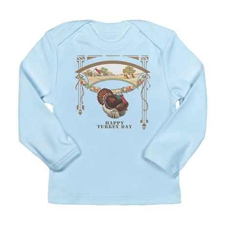 Turkey Day Long Sleeve Infant T-Shirt