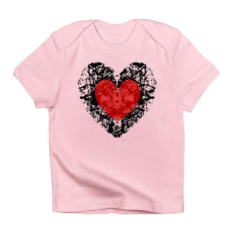 Pretty Grunge Heart Infant T-Shirt