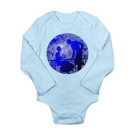 Blue Moon Lovers Long Sleeve Infant Bodysuit