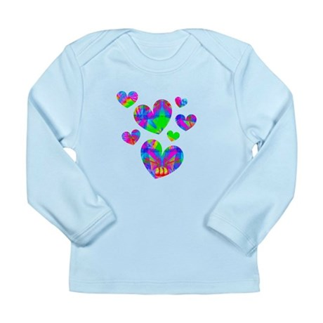 Kaleidoscope Hearts Long Sleeve Infant T-Shirt