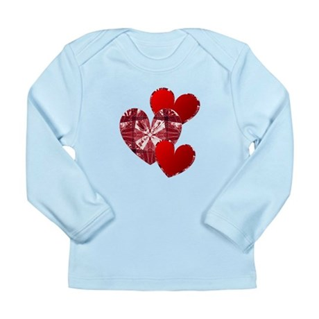 Country Hearts Long Sleeve Infant T-Shirt