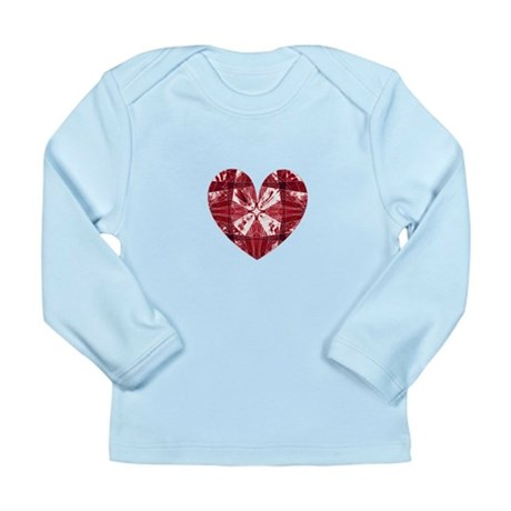 Kaleidoscope Heart Long Sleeve Infant T-Shirt