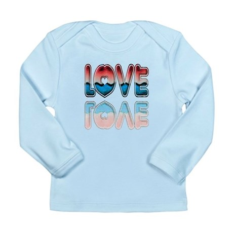 Valentine Love Long Sleeve Infant T-Shirt