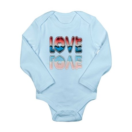Valentine Love Long Sleeve Infant Bodysuit