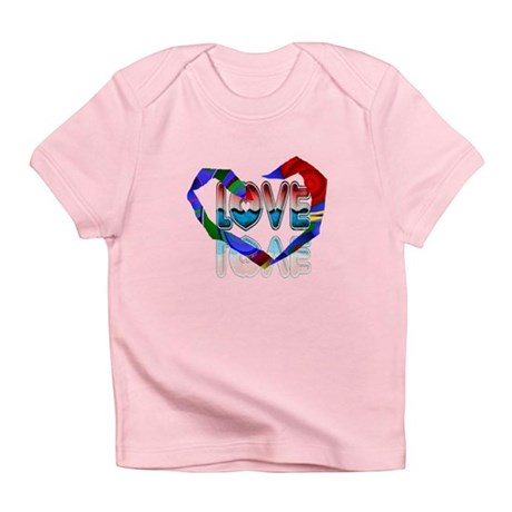Abstract Love Heart Infant T-Shirt