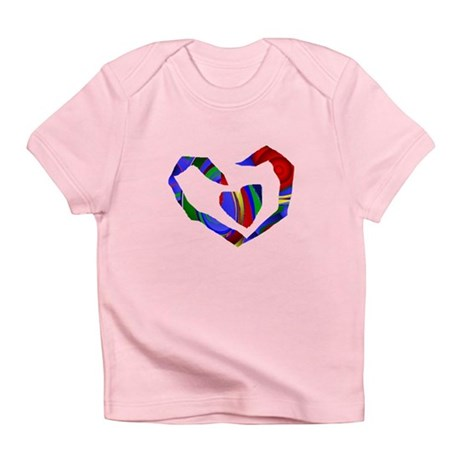 Abstract Heart Infant T-Shirt