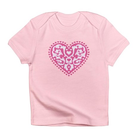 Fancy Heart Infant T-Shirt