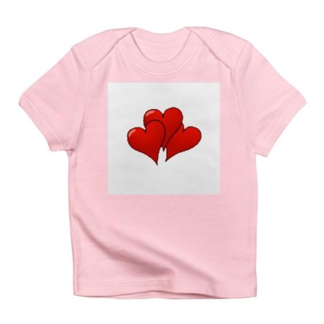 Three Hearts Infant T-Shirt