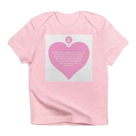 Pink Heart Infant T-Shirt