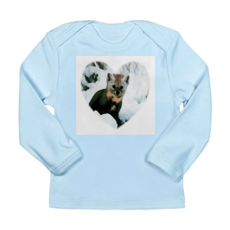 Little Fox Long Sleeve Infant T-Shirt