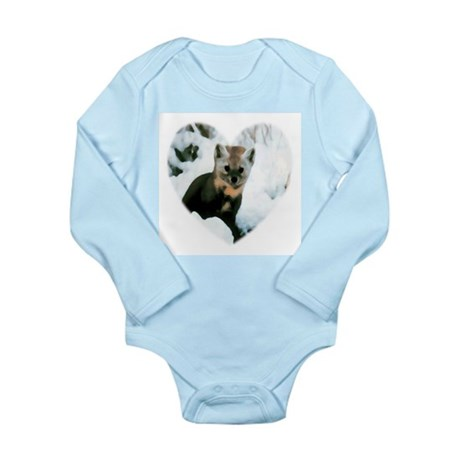 Little Fox Long Sleeve Infant Bodysuit