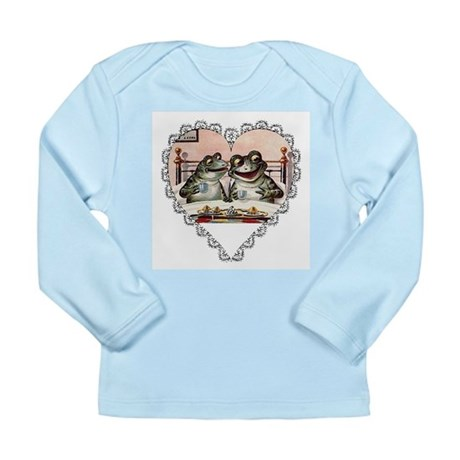 Frog Couple Long Sleeve Infant T-Shirt