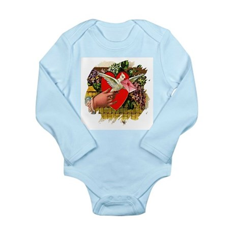 Valentine Long Sleeve Infant Bodysuit