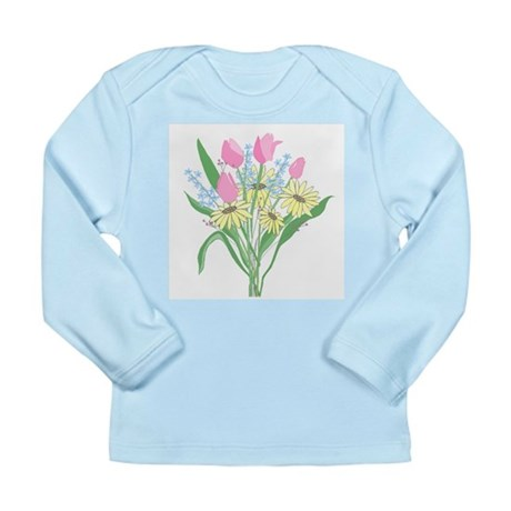 Valentine Bouquet Long Sleeve Infant T-Shirt