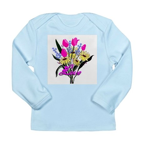 Love Bouquet Long Sleeve Infant T-Shirt