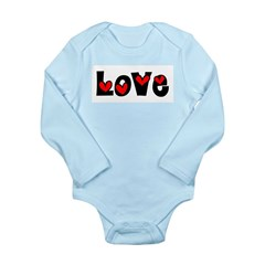 Love Long Sleeve Infant Bodysuit