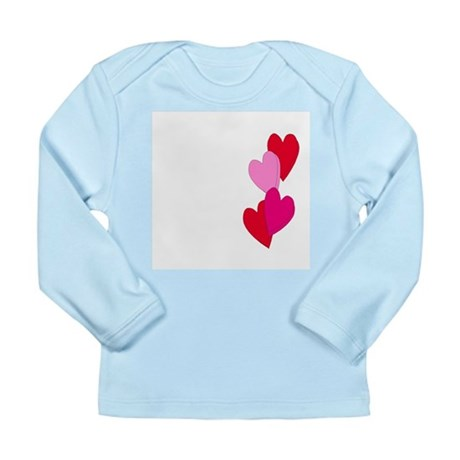 Candy Hearts Long Sleeve Infant T-Shirt
