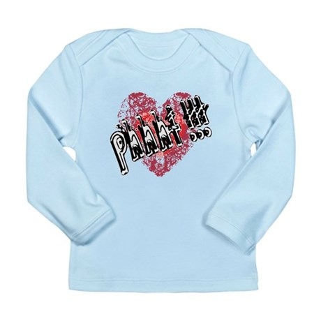 Valentines Love - Phhht !!! Long Sleeve Infant T-S