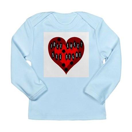 Holes in Heart Long Sleeve Infant T-Shirt