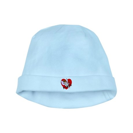 Cupid is a FRAUD! baby hat