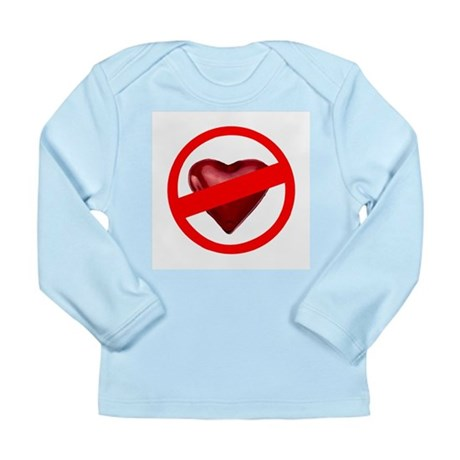 No Love Long Sleeve Infant T-Shirt