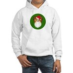 Papillon Christmas Hooded Sweatshirt