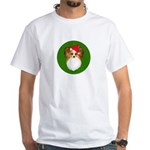 Papillon Christmas White T-Shirt