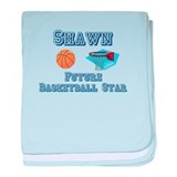 Shawn - Future Basketball Sta baby blanket