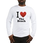 I Love the Beach Long Sleeve T-Shirt