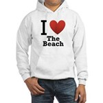 I Love the Beach Hooded Sweatshirt