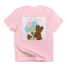 Look Who's One (pink) Infant T-Shirt