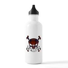 Aitken Tartan Skull Sports Water Bottle