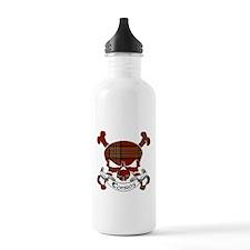 Conroy Tartan Skull Sports Water Bottle