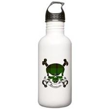Douglas Tartan Skull Water Bottle