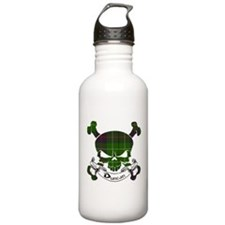 Duncan Tartan Skull Sports Water Bottle