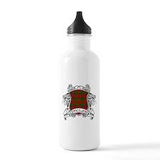 Sinclair Tartan Shield Water Bottle