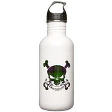 Sutherland Tartan Skull Sports Water Bottle