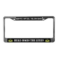 Cute Queen License Plate Frame