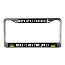 Funny Queen License Plate Frame