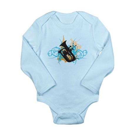 Urban Baritone Long Sleeve Infant Bodysuit
