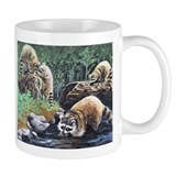 Raccoon Family Coffee Mug