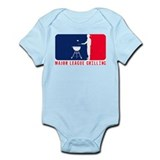 Major League Grilling Infant Bodysuit